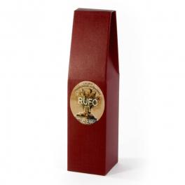 Caja de Cartón color Rojo con 1 botella - Desde 50 cl. hasta 1l.