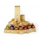 Castillo de Resina - Castillo con 7 botellas